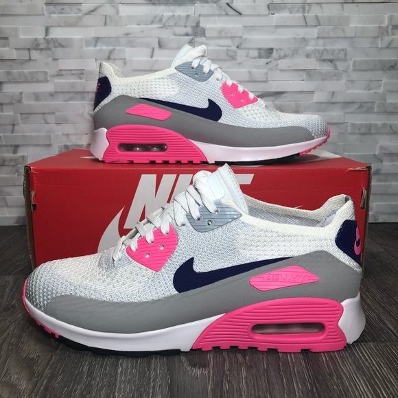 8a789feac1d43 Nike Air Max 90 Ultra 2.0 Flyknit Womens Sneakers